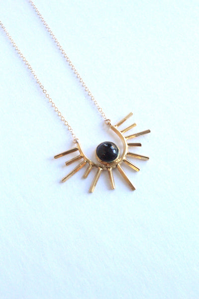 Clifton Rising Onyx Necklace