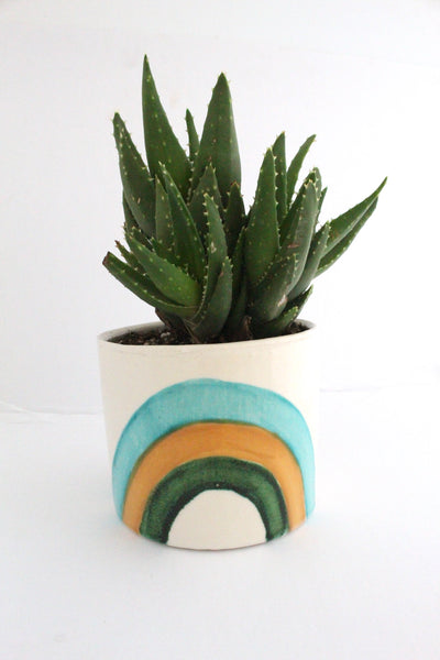 Round Sea Mist Rainbow pot
