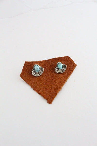 Gold Moonlight Studs