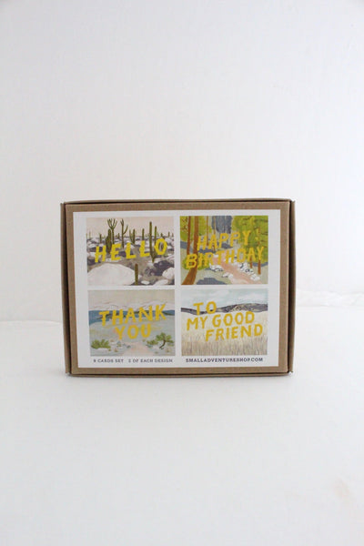 Ecosystems Cards for Many Occasions - Box Set