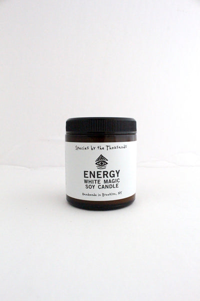 White Magic Energy Candle