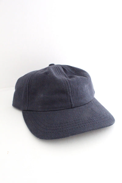 Navy Hemp Baseball Cap