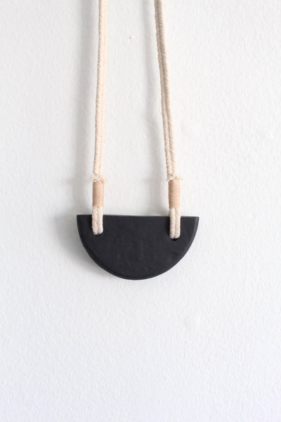 Sabino Canyon Necklace - Black Rock