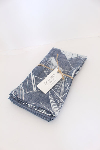 Denim Mountain Napkins || Set of 2
