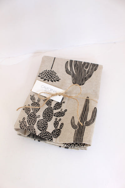 Cactus Napkins || Set of 2