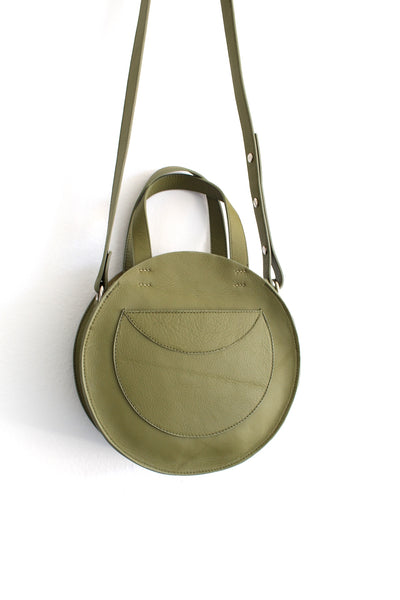 Velita Circle Crossbody | Avocado