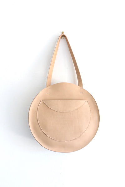 Velita Circle Tote | Butterscotch