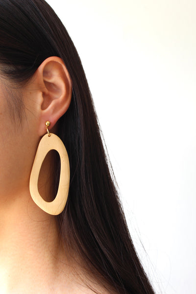 Amoeba Earrings