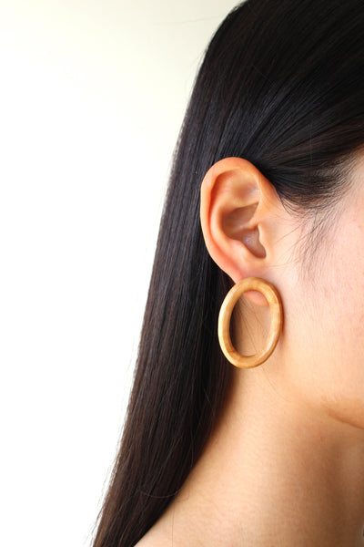 Minimal Ring Earrings