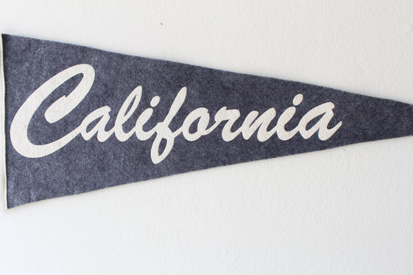 California  Pennant - Grey