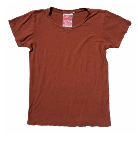 Terracotta Short Sleeve 5oz Hemp Tee