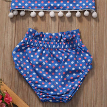 Azure Polka Dot Beachwear | Beachwear Collections