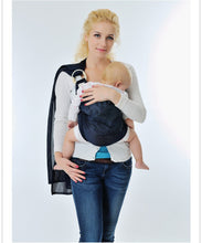 Marco Ring Sling Baby Wrap-Deep Blue