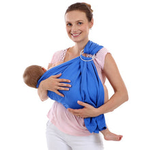 Mason Ring Sling Baby Wrap-Blue