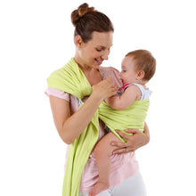 Mason Ring Sling Baby Wrap-Light Green
