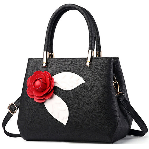 Luis Rose Leather Tote