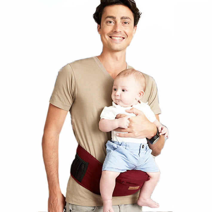 Gear Waist Stool baby Carrier-Red