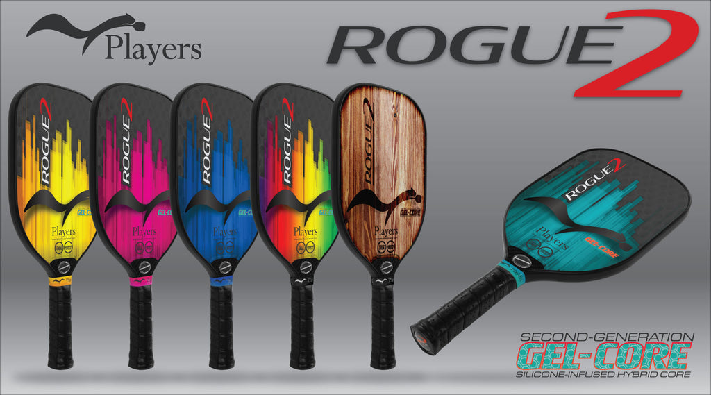 Introducing the all new Rogue2 2nd Generation Gel-Core Pickleball Paddle!