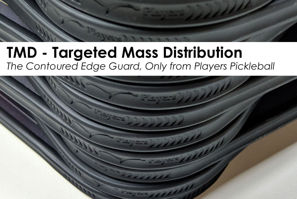 "TMD - ""Targeted Mass Distribution"" & The Contoured Edge Guard"