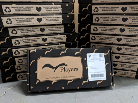 Players Pickleball Shipping Boxes