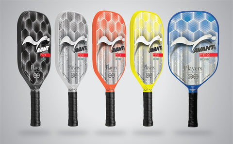 Players Pickleball Avant FPX Gel-Core & ExoFrame Paddle