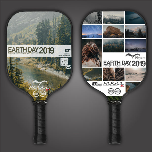 Earth Day 2019 Pickleball Paddle