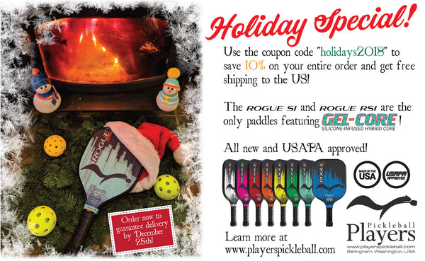 Holiday Sale at Players Pickleball