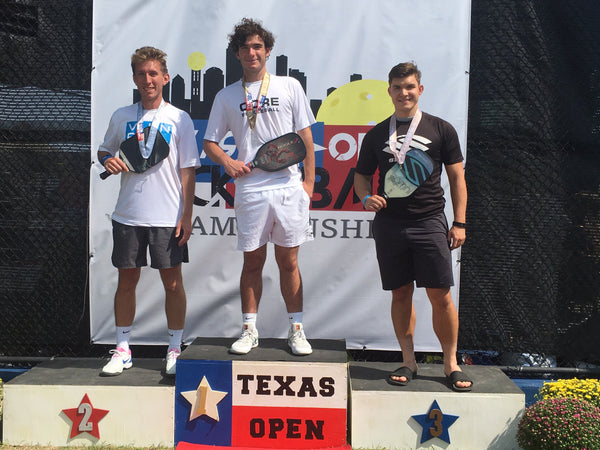 Jack Foster Wins Gold in Men's 5.0 19+ Singles at the Texas Open