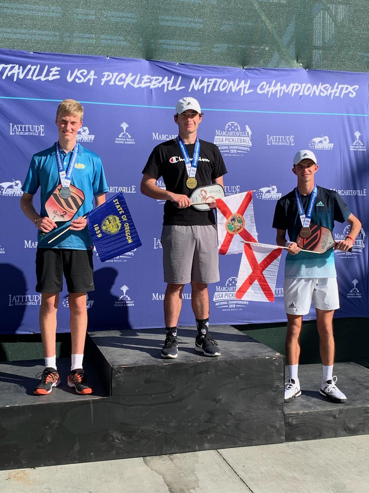 Jack Foster Wins Gold at Nationals with Players Pickleball!