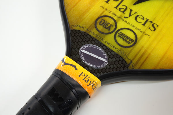Players Pickleball Rogue2 Carbon Fiber Throat Reinforcement