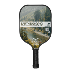 Earth Day 2019 Pickleball Paddle Front