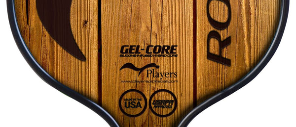 Woodgrain Pickleball Paddle