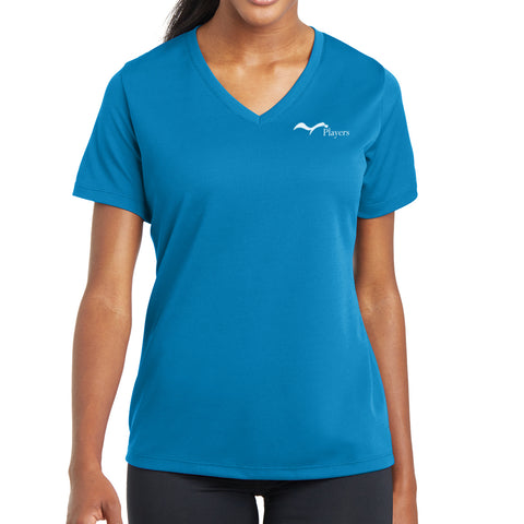 Women's Performance Short Sleeve V-Neck Shirt