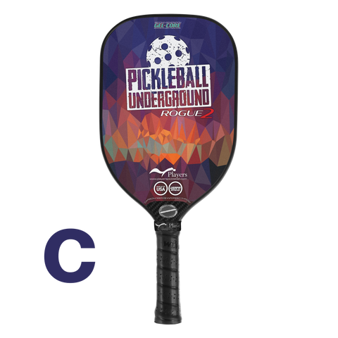 "Rogue2 Gel-Core ""Pickleball Underground"" Abstract Geometric Special Edition"