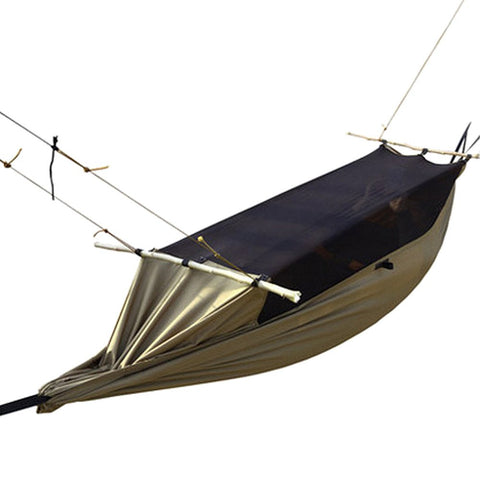 Camping hammock - Tent - 1-2 person -  Portable Mosquito Net - Polyester, Waterproof, Portable, Light Weight, Hiking, Outdoor Fun.