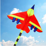 kite - Fighter Jet - with handle & line.