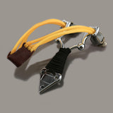 Slingshot. compass in handle. Camping, Survival, outdoor hunting.