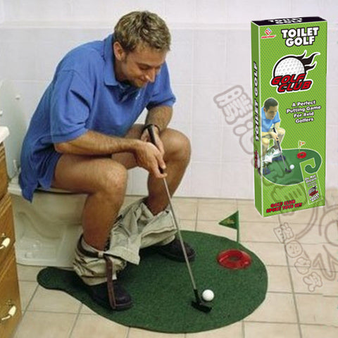 Golf Game, Practice, putt putt, Gag Gift, Funny, Can Seriously practice your golf game anywhere.