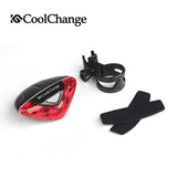 Bike - Rear Warning Safety Light - Biking - Cycling - Cyclist - Safety Tail Light