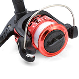 Fishing Reel - 4 Color Styles - Pro JL200 - Electroplating Left/Right Exchangeable with Fishing Line.  Ready to fish
