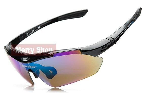 Sunglasses - 4 Color Styles - 5 Lenses Included - for Everyday Use.