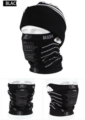 Face Mask. 3 Colors, Blue, Black, Pink. Winter Thermal Windproof Ski Mask Snowboard Ski Motorcycle Bicycle Outdoor Cycling Face Mask