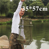 Fishing Net Trap - Portable - 4 Sizes - Folds for Storage - Bait Keeper - Fish Cage
