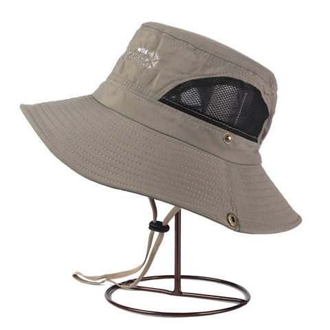 Unisex Quick Dry Hat - Fishing, Hiking, Boating, Beach, Canoeing, Summer time Shade