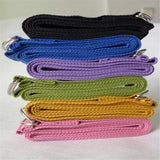 Yoga - Pilates - Belt - Fitness - exercise - Stretch Strap - Gym - D-Ring - Waist - Leg - Stretching extender - 3 Colors