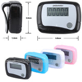 Pedometer - Digital LCD Display. Fitness, Run, Step, Walking, Distance , Step Counter