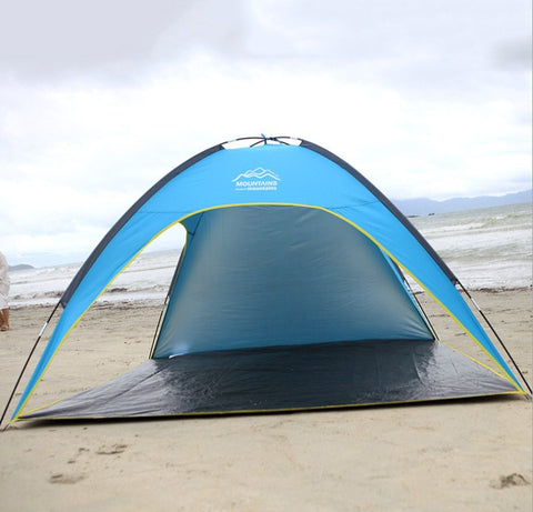 Sun Shelter - Cabana - Shade - STAR HOME - Lightweight Beach Tent