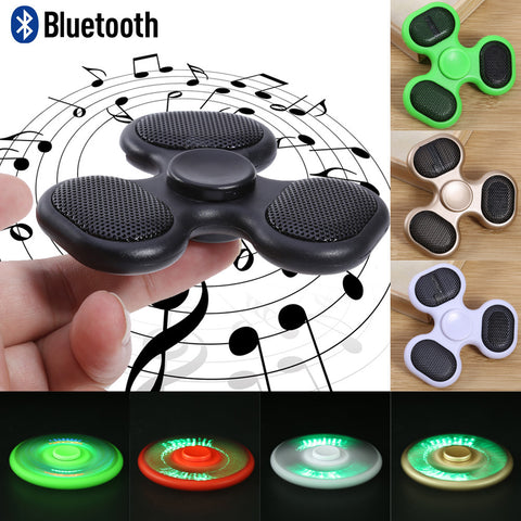 Bluetooth Fidget Spinner - Anti Stress - EDC - Autism - ADHD - Fun interactive toy