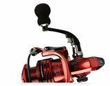Fishing Reel - Free Spinning - 3 Colors - 7 Sizes - All-Metal - 13+1 Bearings - 5.5:1 Gear Ratio - Suitable for all fish sizes fresh or Salt Water