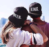 Hat - King - Queen - Couple or Single Royalty Searching. Adjustable Cap